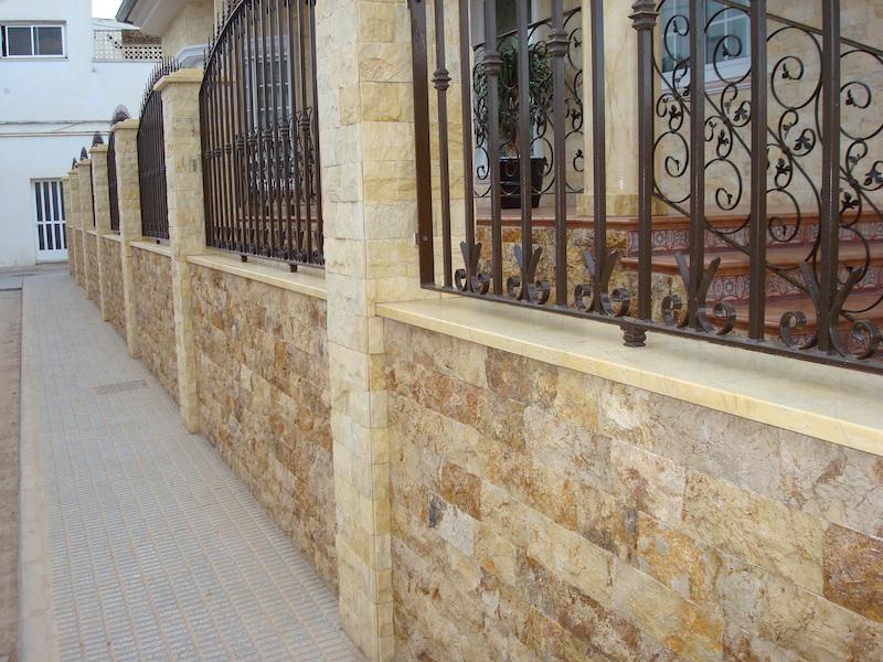 Zocalos para fachadas baldosas para exterior de diseo - Zocalo exterior ...